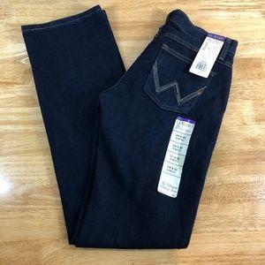 Women's WRANGLER Q-Baby Jeans 3/4 x 34 Long Tall